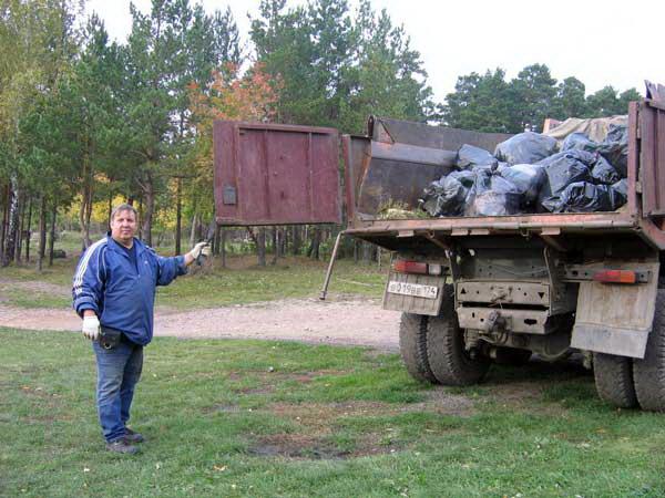 Уборка мусора как бизнес